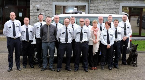Le corps de police de Theux